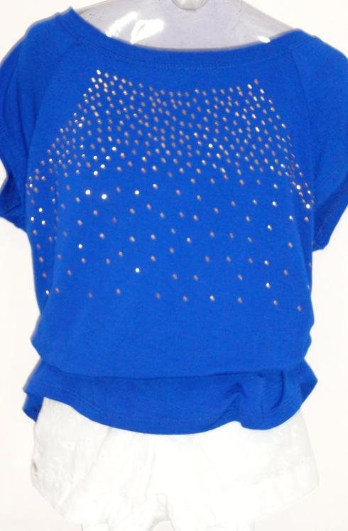 Blusa teen com brilhos, diversas cores.
