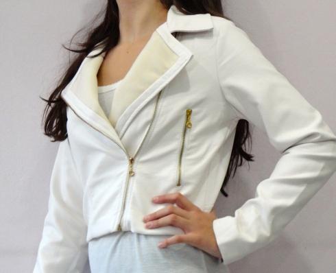 Jaqueta de couro Fanyland R$