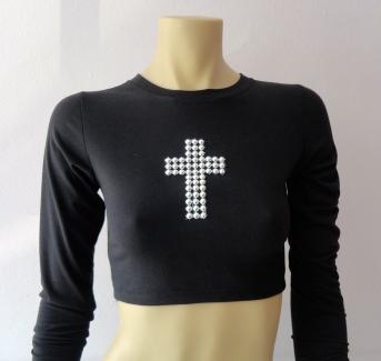 Última tendencia: blusa crooped R$