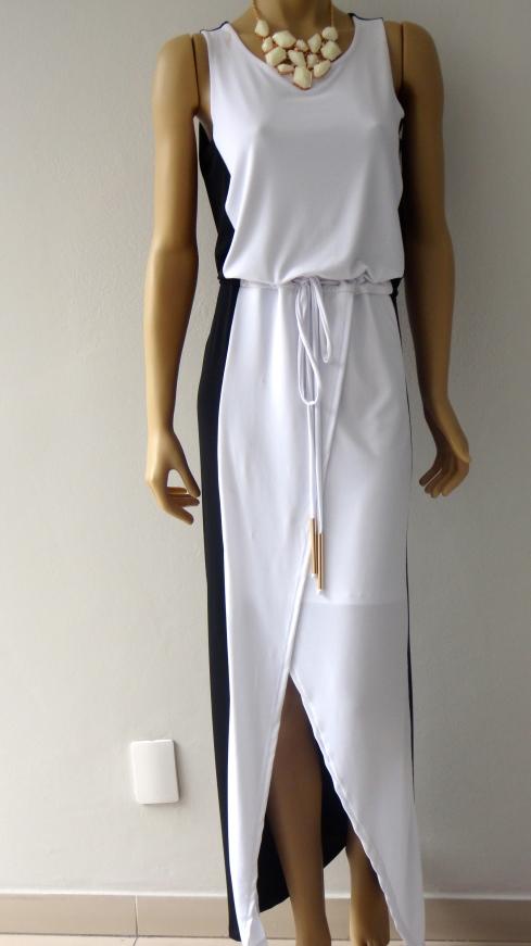 Vestido bicolor TALENTO