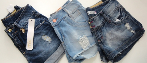 Shorts desfiados, super tendencia