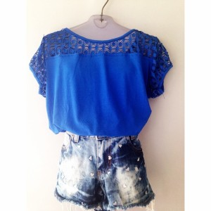 bl azul short