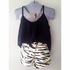 short zebra regata pret